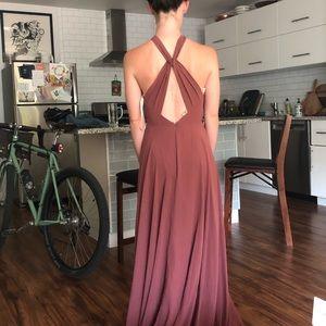 Jenny Yoo Bridesmaid Dress (floor length)